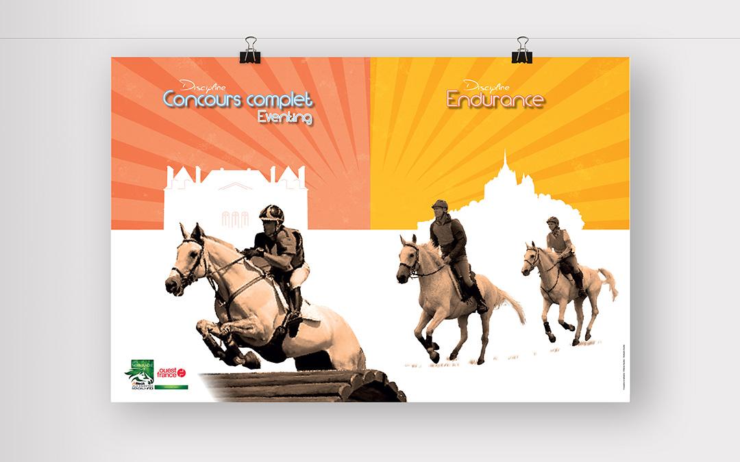 Affiche Concours complet et Endurance