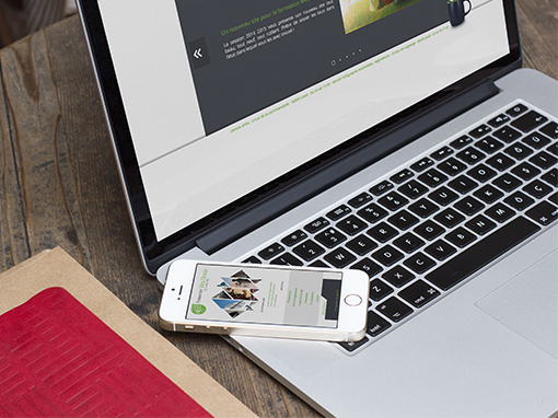 Site de la formation Web Design de l'AFPA Laval
